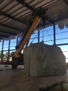 indoor crane rigging
